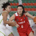 Chile cayó ante Brasil en el cierre del Grupo A del Sudamericano de Básquetbol Femenino