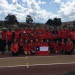 Chile obtuvo el cuarto lugar en el Sudamericano Sub 23 de Atletismo