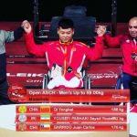 Juan Carlos Garrido y Camila Campos ganan medalla de bronce en el Campeonato Asiático de Para Powerlifting