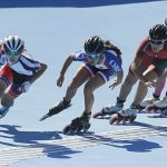 Ashly Marín terminó séptima en el patín carrera de los Juegos Olímpicos de la Juventud