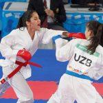 Catalina Valdés debutó en el karate de los Juegos Olímpicos de la Juventud
