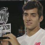 Christian Garin derrota a Federico Delbonis y se titula campeón del Challenger de Santo Domingo