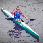 Emily Valenzuela alcanzó los octavos de final del canotaje en los Juegos Olímpícos de la Juventud