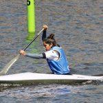Isidora Arias alcanzó los octavos de final del canotaje en los Juegos Olímpicos de la Juventud