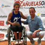 Macarena Cabrillana se tituló campeona de singles y dobles en el Cañuelas Open