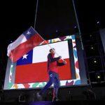 Martín Vidaurre fue el abanderado nacional en la inauguración de los Juegos Olímpicos de la Juventud 2018