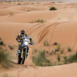 Pablo Quintanilla logra el tercer lugar en la segunda etapa del Rally de Marruecos