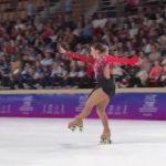 Sofía Riess obtuvo el quinto lugar en el Mundial de Patinaje Artístico