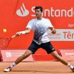 Tomás Barrios se despidió del Challenger de Shymkent tras caer en la segunda ronda
