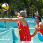 Gaspar Lammel y Vicente Droguett caen en la segunda fase del volleyball playa en los Juegos Olímpicos de la Juventud