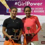 Bárbara Gatica se quedó con el vicecampeonato de dobles de la Copa LP Chile