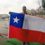 Bárbara Hernández obtuvo cinco medallas en la primera fecha del Circuito Mundial de Aguas Gélidas