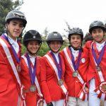 Chile suma dos medallas de plata en el Americas Jumping Championship