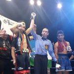 Luis Cruzat debuta en el boxeo profesional con un triunfo por nocaut