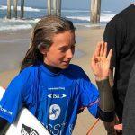 Noel de la Torre clasificó a las semifinales del Mundial Junior de Surf