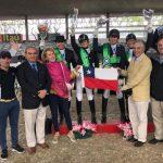 Team Chile de adiestramiento ecuestre clasificó a los Juegos Panamericanos de Lima 2019