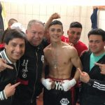 """Luis """"Junior"""" Cruzat sumó una nueva victoria por nocaut"""
