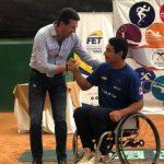 Alexander Cataldo se tituló campeón de singles y dobles en Ecuador