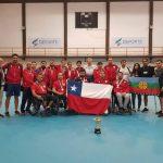 Chile obtuvo el tercer lugar en la Copa Tango de Tenis de Mesa Paralímpico