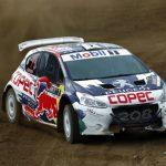 """""""Chaleco"""" López vivió una compleja jornada de entrenamientos en el Motorshow del Rallymobil"""