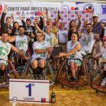 Lobos se coronó campeón de la Liga Nacional de Básquetbol Paralímpico