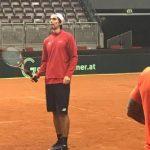 Julio Peralta quedó descartado para la serie de Copa Davis ante Austria