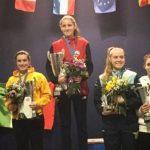 Rosario Díaz del Río se tituló campeona en torneo de esgrima de Busto Arsizio