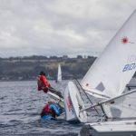 La falta de viento marcó la primera fecha de la Semana de la Vela Santander