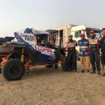 """""""Chaleco"""" López realizó una exitosa prueba de su vehículo en las dunas peruanas"""