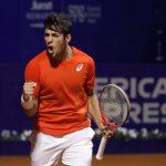 Christian Garin avanzó a octavos de final del ATP 250 de Buenos Aires