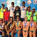 Primos Grimalt y dupla Deppasier/Mardones ganaron la sexta fecha del Circuito Nacional de Volleyball Playa