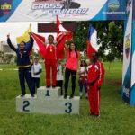 Laura Acuña ganó medalla de bronce en la categoría Sub 20 del Sudamericano de Cross Country