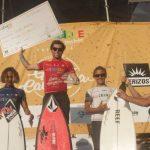Camilo Hernández y Esperanza Rojas ganaron el Gran Cavancha Iquique Pro
