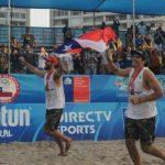 Los primos Grimalt ganan la segunda fecha del CIrcuito Sudamericano de Volleyball Playa en Coquimbo