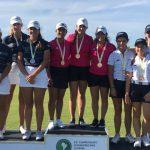 Equipo chileno femenino gana medalla de bronce en el Sudamericano Juvenil de Golf