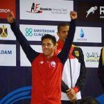 Esteban Bustos logra histórico cuarto lugar en la Copa del Mundo de Pentatlón Moderno de Egipto