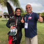 Fernanda Naser y Rodrigo Miranda suman oros para Chile en los Juegos Sudamericanos de Playa