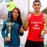 Carlos Pereira y Yendi Ugalde ganaron la Media Maratón de Quintero