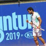 Gonzalo Lama avanza en singles y dobles del Cachantun Open
