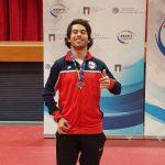 Matías Pino y Tamara Leonelli ganan medallas en el Open Paralímpico de Lignano