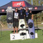 El wakeboard coronó a sus campeones nacionales de la temporada 2019