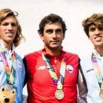 Rodrigo Miranda suma un nuevo oro para Chile en el esquí náutico de Rosario 2019