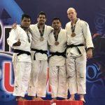 Thomas Briceño y Josefina Fuentealba ganan medalla de oro en el Open Lima de Judo