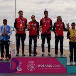 El triatlón le entrega a Chile su segunda medalla de oro en los Juegos Sudamericanos de Playa