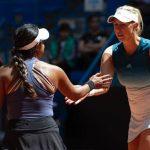 Alexa Guarachi juega este miércoles en el cuadro de dobles de Wimbledon