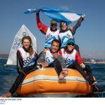 Argentina se tituló campeón por equipos del Sudamericano de Veleros Optimist
