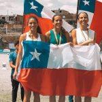 """Chile logró dos medallas de oro en el Grand Prix Sudamericano de Atletismo """"Mario Paz"""""""