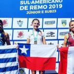 Chile sumó 8 medallas de oro en la primera jornada del Sudamericano Juvenil y Sub 23 de Remo