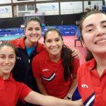 Cinco representantes nacionales se instalaron en la fase final del Mundial de Tenis de Mesa
