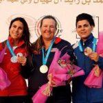 Francisca Crovetto ganó medalla de plata en una nueva Copa del Mundo de Tiro al Vuelo